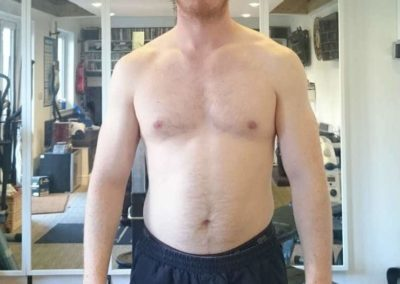 St Albans Personal Trainer Dan Johnston has let himself go a bit. So he has created a 500 Calorie Challenge to burn that fat! This is the picture from Day 1